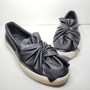 Sugar Gonzo Bow Knot Slip On Loafers Sneaker
